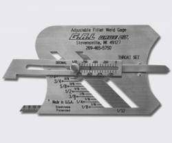 GALGAGE Weld Gauge Adjustable Fillet