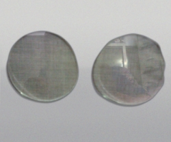 JACKSON Welding Lens 50mm round glass clear