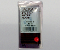 JACKSON Welding Lens glass no 9