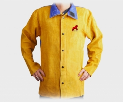 REDRAM Welding Jacket Golden Colour With Blue FR (Size:L)