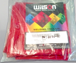 WILSON Curtain 6x6 ft orange